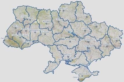 Карта украины смотреть фото 691-574