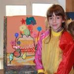 Наш класс 1-В 2014 года. Наши первые художества, наши первые картины в Херсонской художественной школе 2014-2015 учебные года. 1v-klass-2014-goda-12
