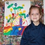 Наш класс 1-В 2014 года. Наши первые художества, наши первые картины в Херсонской художественной школе 2014-2015 учебные года. 1v-klass-2014-goda-13