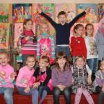 Наш класс 1-В 2014 года. Наши первые художества, наши первые картины в Херсонской художественной школе 2014-2015 учебные года. 1v-klass-2014-goda-15