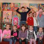 Наш класс 1-В 2014 года. Наши первые художества, наши первые картины в Херсонской художественной школе 2014-2015 учебные года. 1v-klass-2014-goda-16