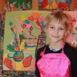 Наш класс 1-В 2014 года. Наши первые художества, наши первые картины в Херсонской художественной школе 2014-2015 учебные года. 1v-klass-2014-goda-3