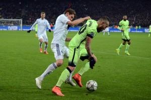 dinamo-ustupilo-manchester-siti «Динамо» уступило «Манчестер Сити» в первом матче 1/8 финала Лиги чемпионов