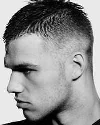 Мужская стрижка бокс брутальный стиль