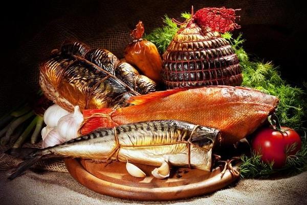 Способы и виды копчения рыбы