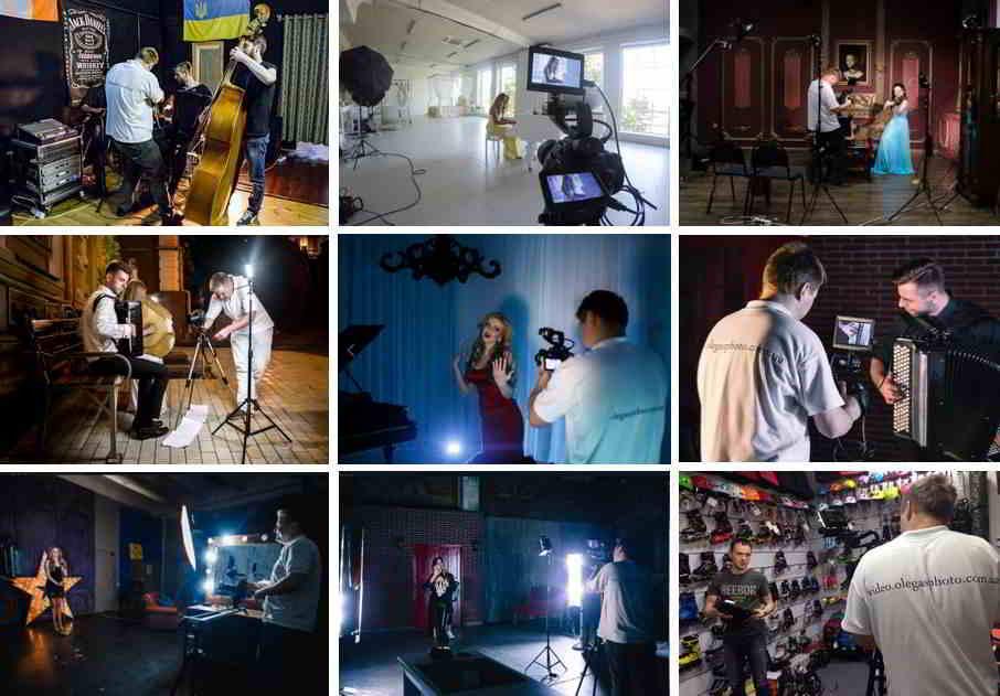 Как найти хорошего видеооператора для съёмки клипа?