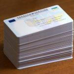 В Украине с 1 июня 208 года вид на жительство будет выдаваться в форме ID карты