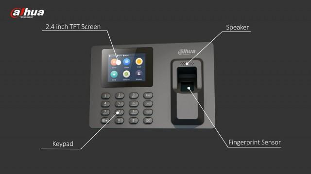 Биометрические Dahua терминалы контроля