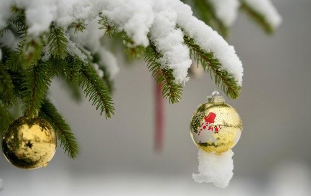 В новогоднюю ночь в Украине синоптики обещают снег