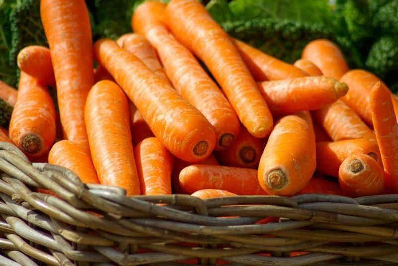 На українських ринках з'явилася перша морква врожаю 2019 року