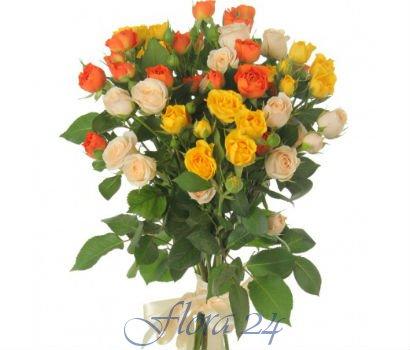 Доставка цветов от магазина Flora24 com ua всегда актуальна