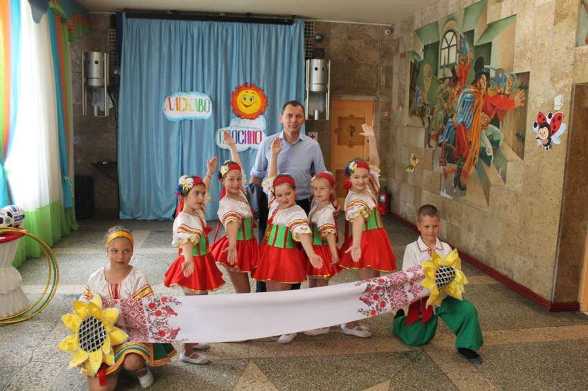 Гости в детском городском лагере отдыха Солнышко